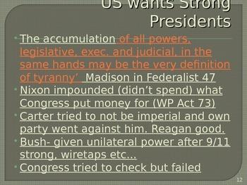 President & Executives PowerPoint