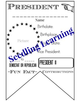 President Facts Banner / Pennant