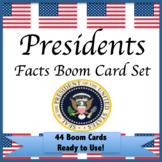 President Facts Boom Cards American Presidential Terms Num