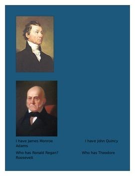 President Flashcard Game