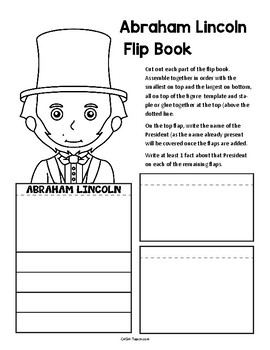 President Flip Books (Washington & Lincoln)