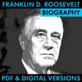 President Franklin D. Roosevelt Biography Research Organiz