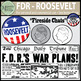 President Franklin D. Roosevelt - FDR Clip Art {Messare Cl