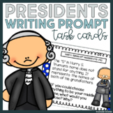 President Task Cards: Great for Writing Centers or Preside