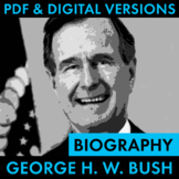 President George H. W. Bush Biography Research Organizer,