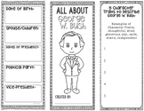 President George W. Bush - Biography Research Project - Graphic Organizer