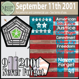 September 11th - NEVER FORGET Pack {Messare Clips and Design}