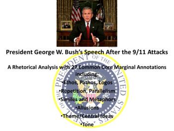 President George W. Bush's September 11 Address – Rhetorical Analysis
