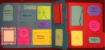 President George Washington Lapbook/Interactive Notebook