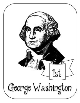 President George Washington Lapbook & Interactive Notebook