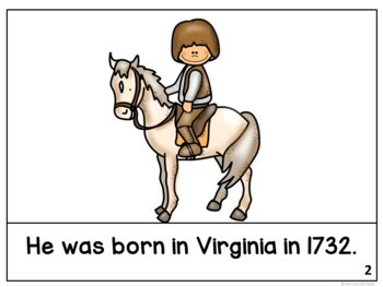 President George Washington Reader & Timeline {President's Day}