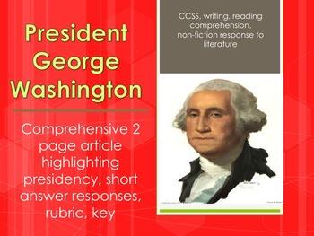 President George Washington legacy, accomplishments as president