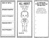 President Gerald Ford - Biography Research Project - Interactive Notebook