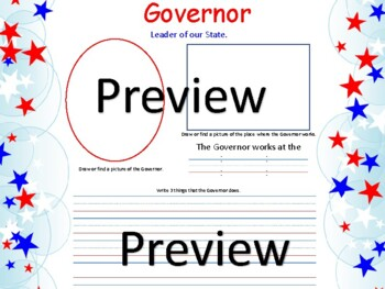 President, Governor, and Mayor Booklet