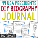 Build-Your-Own President Notebook Journal in 2 Formats