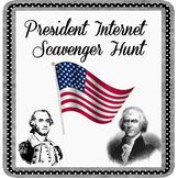 President Internet Scavenger Hunt