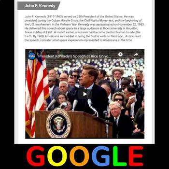 President JFK's Race to Space Speech