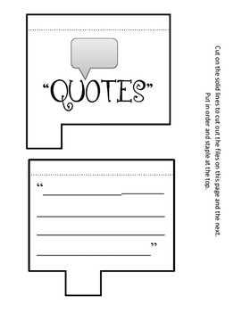 President James A. Garfield Lapbook and Interactive Notebook