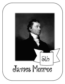 President James Monroe Lapbook & Interactive Notebook