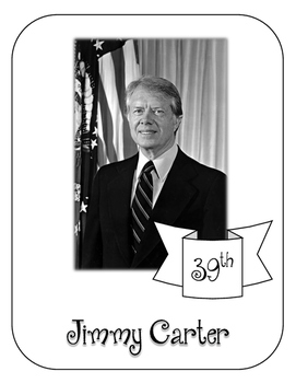 President Jimmy Carter Lapbook and Interactive Notebook