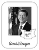 President Ronald Reagan Lapbook and Interactive Notebook