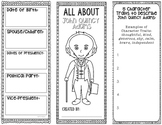 President John Quincy Adams - Biography Research Project - Graphic Organizer