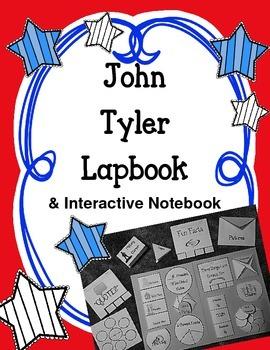 President John Tyler Lapbook & Interactive Notebook