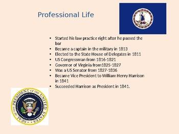 President John Tyler PowerPoint