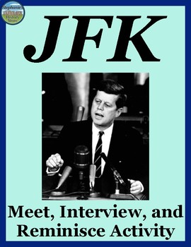 President Kennedy Interview Review Activity