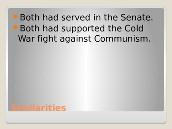 President Kennedy and the Cold War Powerpoint in PDF