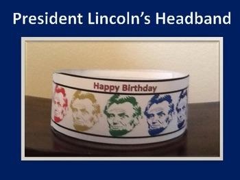President Liincoln's Birthday Hat