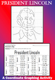 President Lincoln - A President's Day Coordinate Graphing Activity