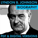 President Lyndon B. Johnson Biography Research Organizer,