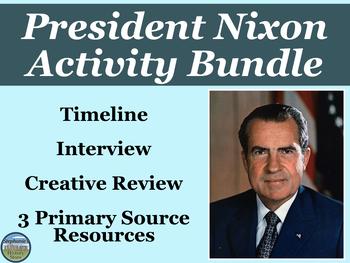 President Nixon Activity Bundle