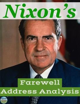 President Nixon's Farewell Address Primary Source Analysis