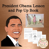 President Obama Lesson and Pop Up Book