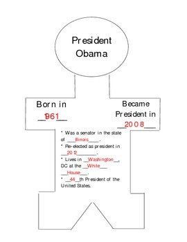President Obama Paper Doll