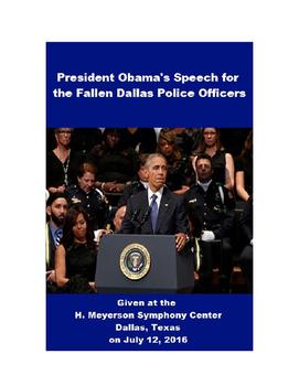 President Obama's Speech for Fallen Dallas Police Officers