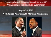 President Obama's 50th Anniversary of the March on Washington Annotated Speech