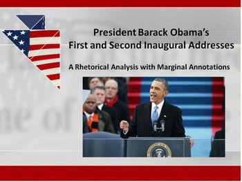 President Obama's First and Second Inaugural Addresses – R