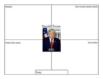 President Organizers - Washington to Trump