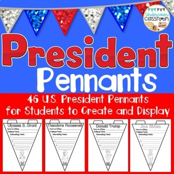 President Pennant Kit- All U.S. Presidents