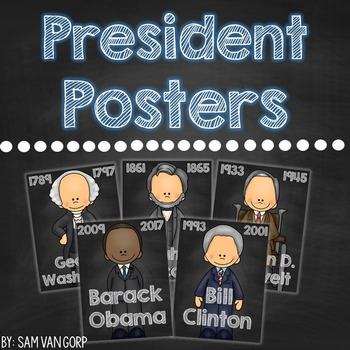 President Posters