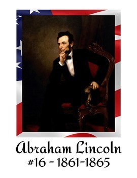 President Posters - Includes all 45 Presidents - Available in Two Sizes