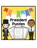 President Puzzles - Crossword, Word Search, Matching
