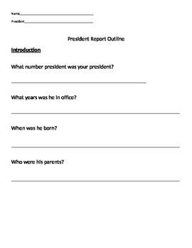 President Report