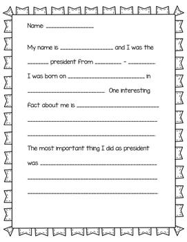 President Report Script