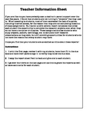 President Report Template and Rubric