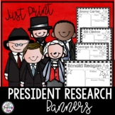 President Research Banners