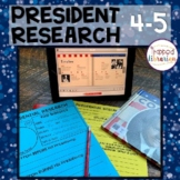 President Research Fourth & Fifth Grades